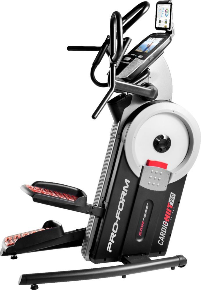 ProForm SMART HIIT Pro Elliptical Trainer Gray/Black/Red ...
