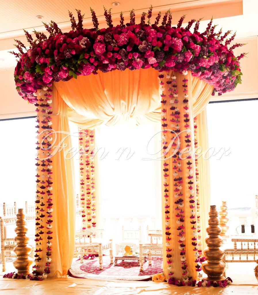 Indian Wedding Decorations By Fern N Decor Located In New York