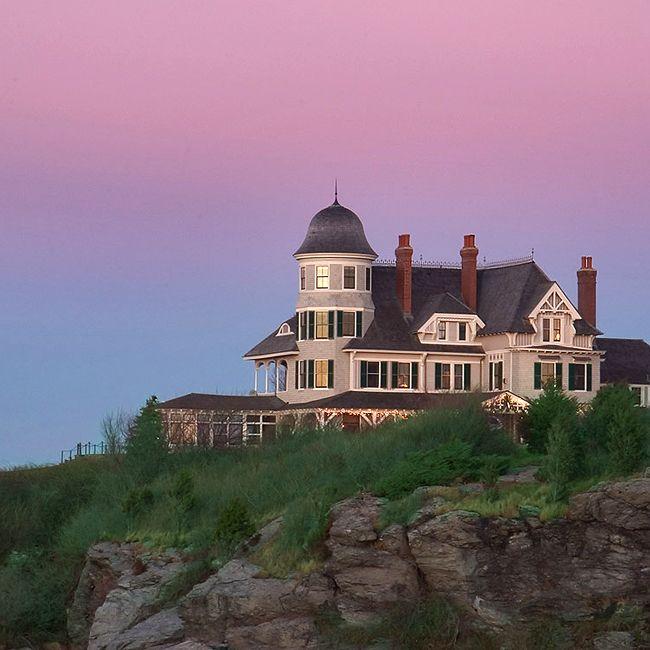 A Timeless New England Wedding At A Newport Mansion: Castle Hill Inn - Newport, RI