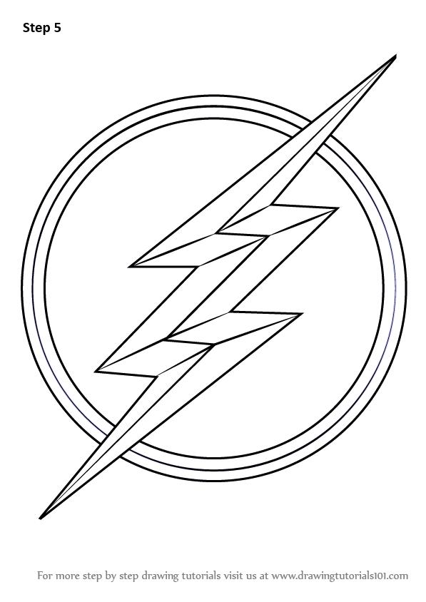 Flash Logo Drawing : flash, drawing, Learn, Flash, Symbol, Flash), Drawing, Tutorials, Drawing,, Logo,