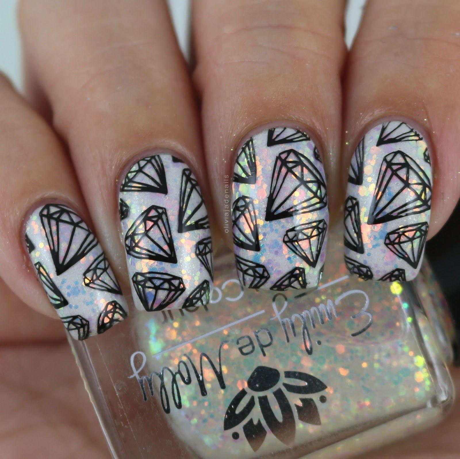 Olivia Jade Nails: Emily de Molly XL Stamping Plates (EDM30 - EDM34 ...