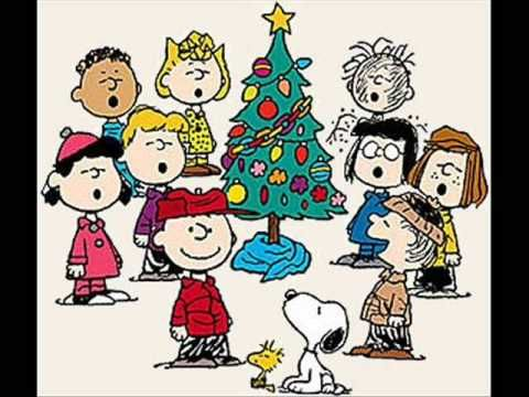 christmas carols christmas time is here charlie brown