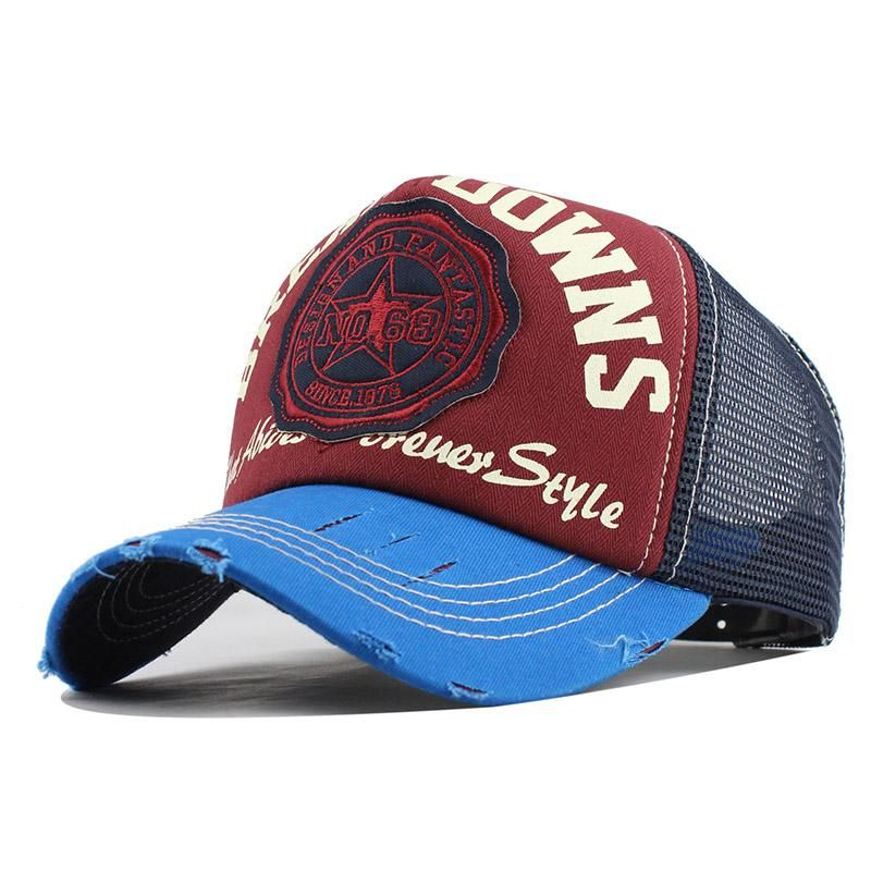 Break Downs Embroid Baseball Cap In 2020 Baseball Cap Summer Casual Cap Girl With Hat
