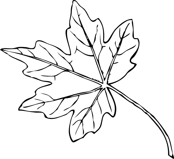 Maple Leaf Clip Art at Clker.com - vector clip art online, royalty ... | Fall | Pinterest | Clip ...