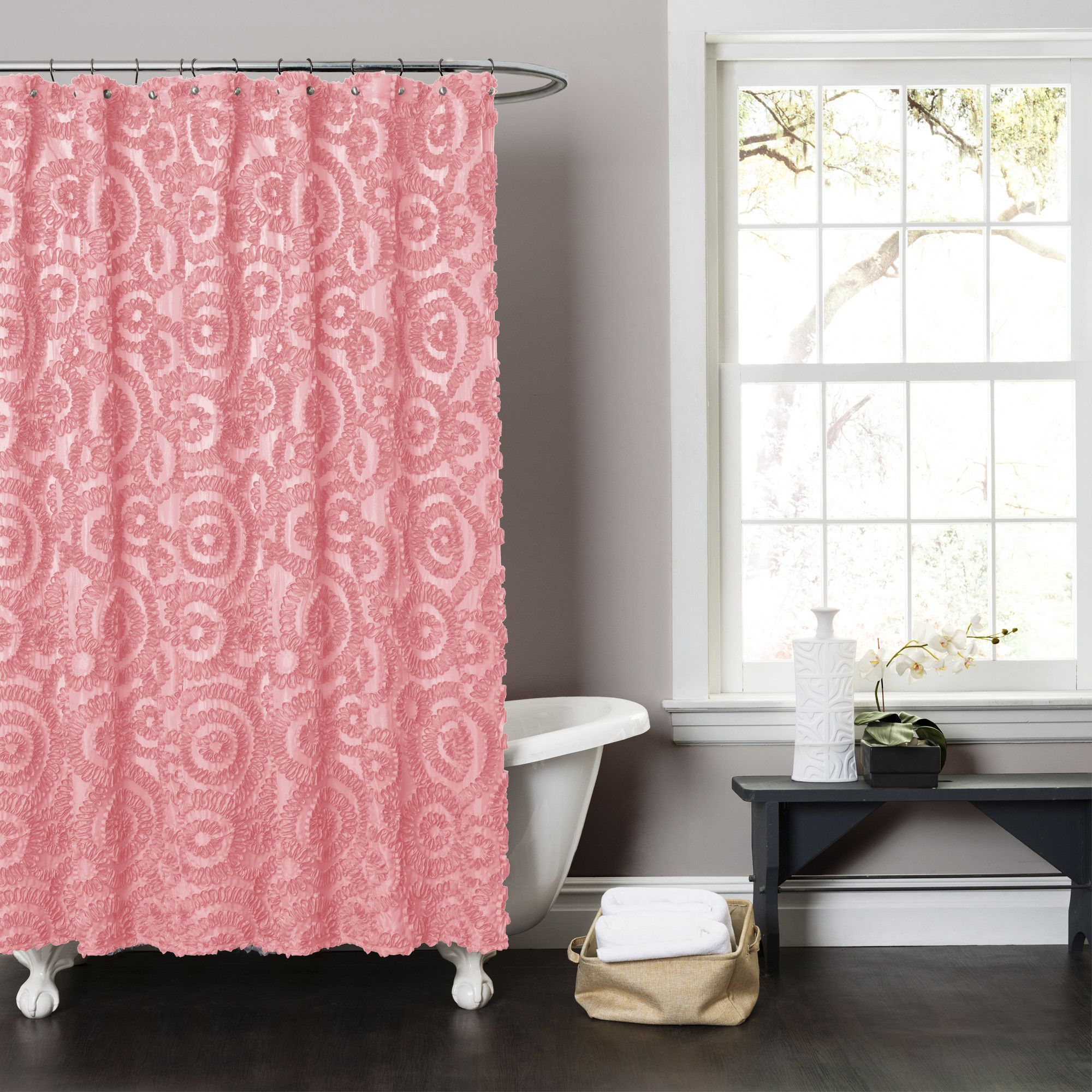 Stella shower curtain drapes and curtains pinterest