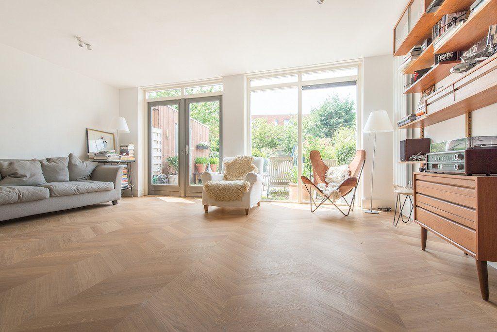 Hongaarse Punt Vloer : Klassiek eiken hongaarse punt sfeer huis flooring