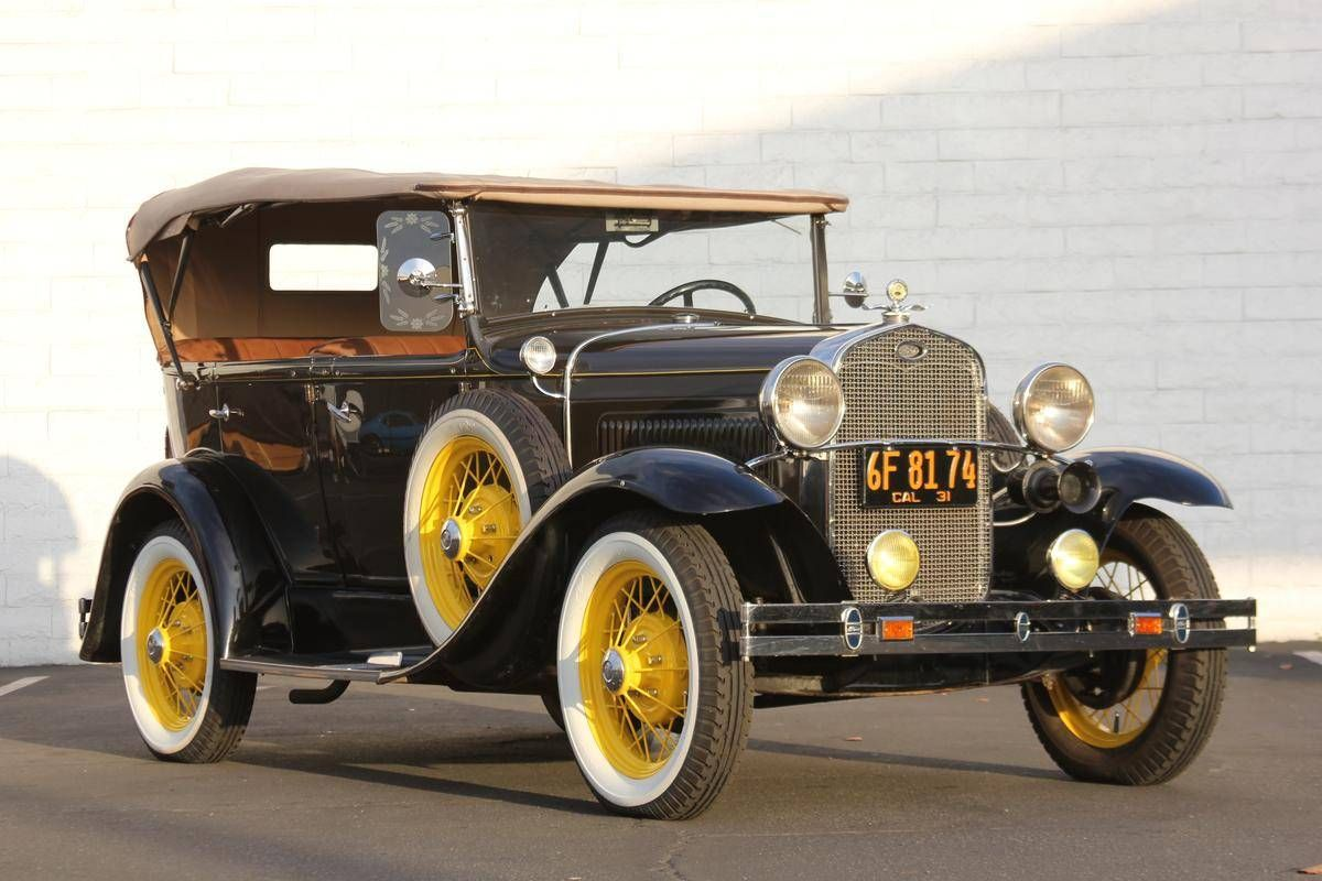 1931 Ford Model A Deluxe Phaeton for sale | Hemmings Motor News ...