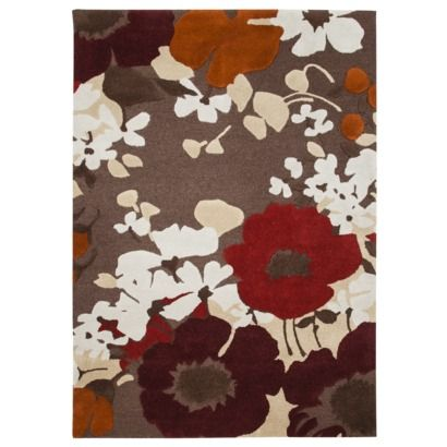 Threshold Wool Poppy Area Rug Brown Diffe Look Warmer Color Palatte