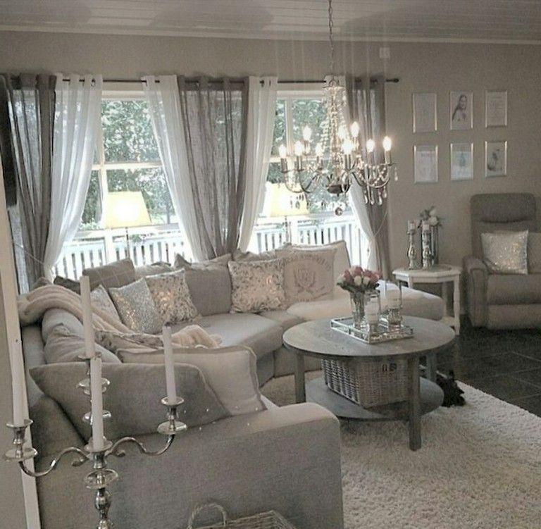 Modern Glam Living Room Decorating Ideas 19: 45 Wonderful Shabby Chic Living Room Decor Ideas