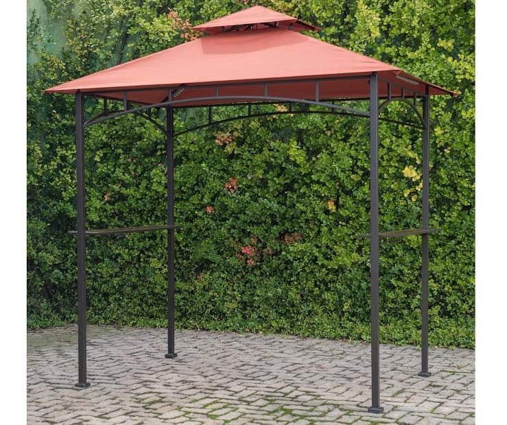 Aviano Grill Gazebo 8 X 5 At Big Lots 112 Grill Gazebo Patio Gazebo Gazebo