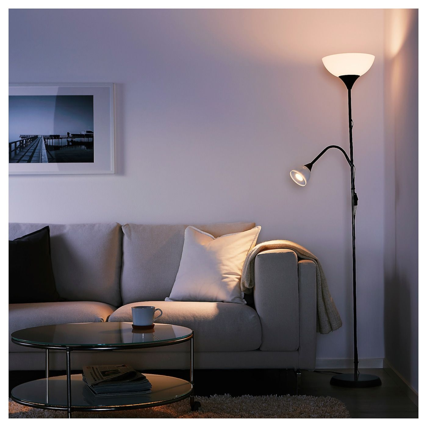 ikea floor reading lampadaire lamp lamps liseuse uplighter avec deckenfluter leseleuchte lampadaires luminaires holmo sweden luminaire bain salle shopee lampu