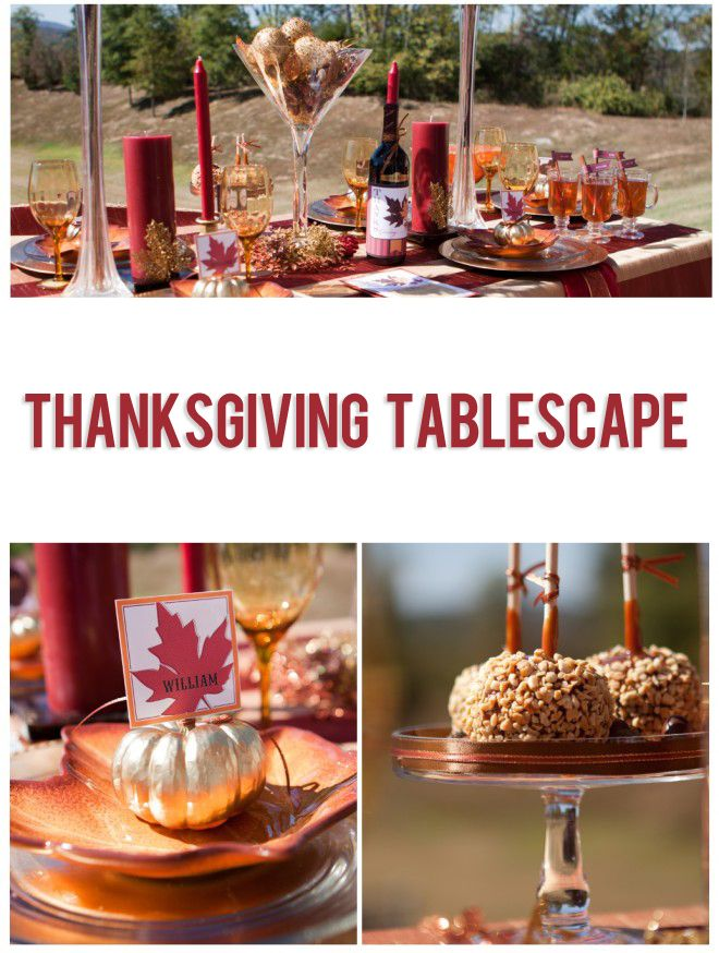Thanksgiving Tablescape (With images) | Thanksgiving ...
