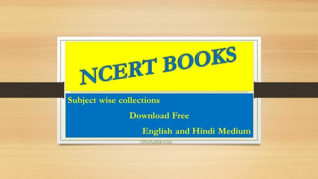 Ncert New Books Pdf