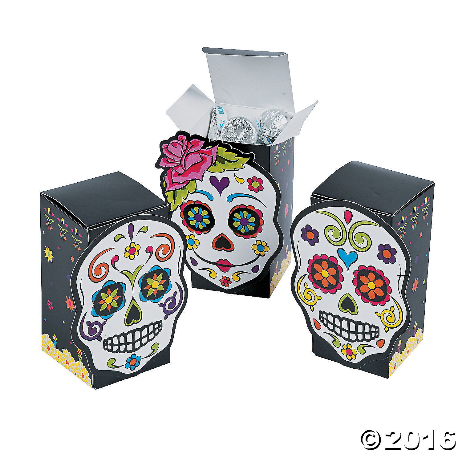 Day of the Dead Favor Boxes | Favors and Party guests