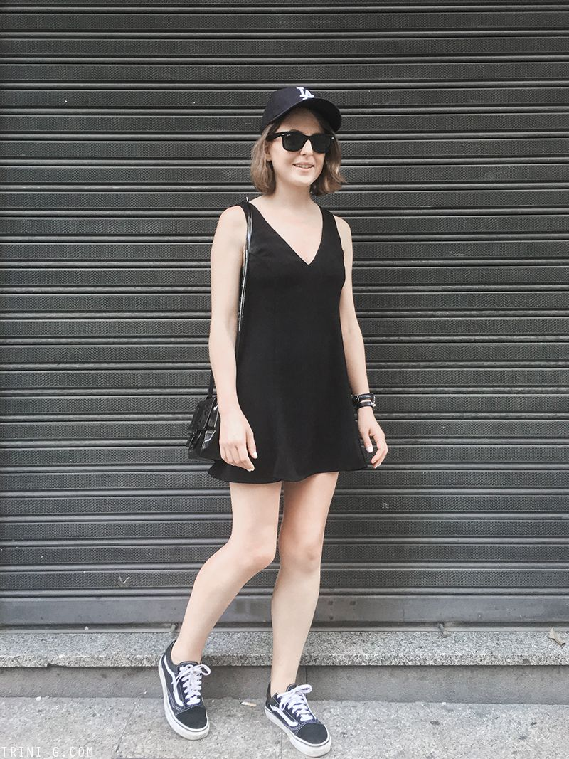 Summer 2016 Outfit 3 Dresses With Vans Outfits Fashion [ 1067 x 800 Pixel ]