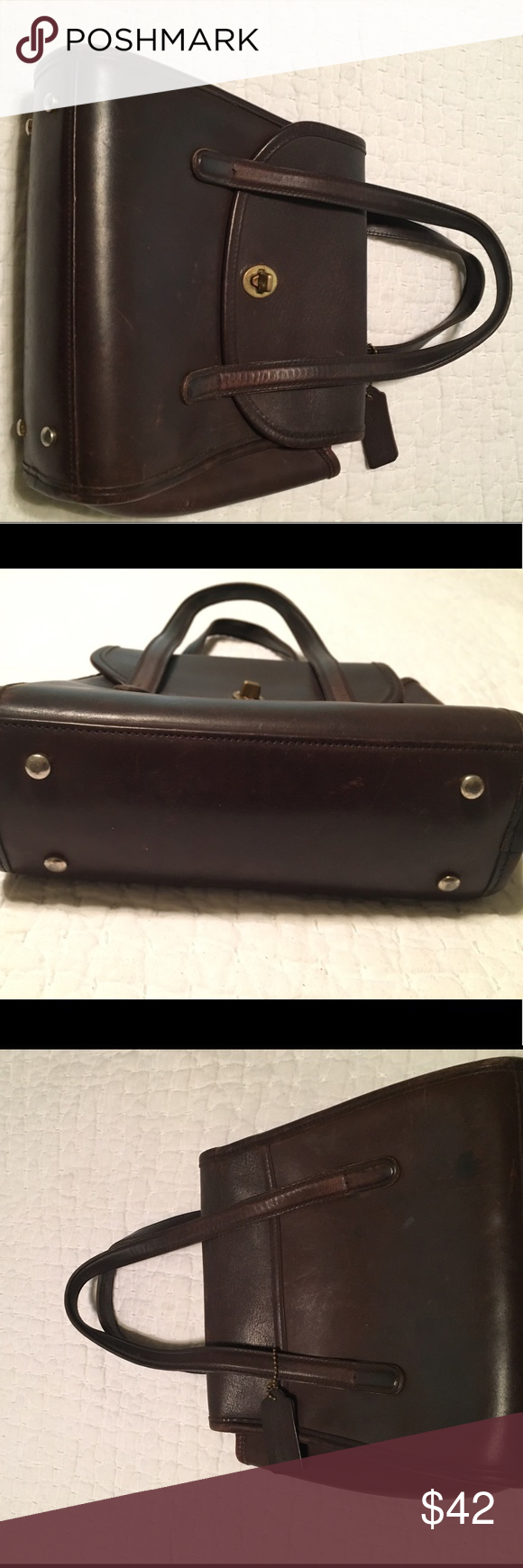Coach satchel type purse. Authentic. Great purse! Great for business, jeans  or anthing else. Very vestige. Very good condition. Coach Bags Satchels ee90808df0