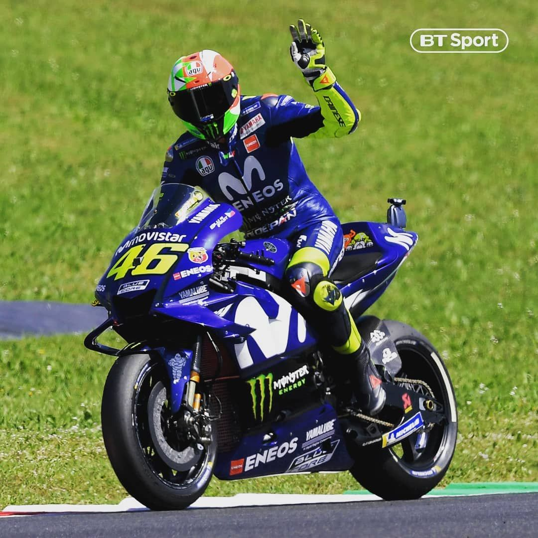 Rossi on pole at the ItalianGP 🇮🇹🏁🙌 . Mugello will be