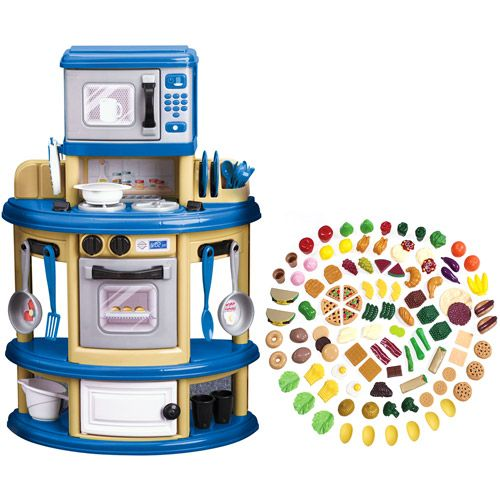 American plastic my very own kitchen and step2 play food set american plastic my very own kitchen and step2 play food set teraionfo