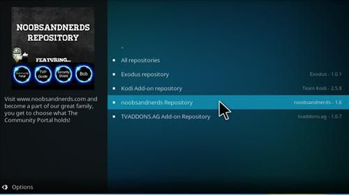 hHow to Install Noobs and Nerds Repository Kodi 17 Krypton step 15 | Kodi. Installation. How to become