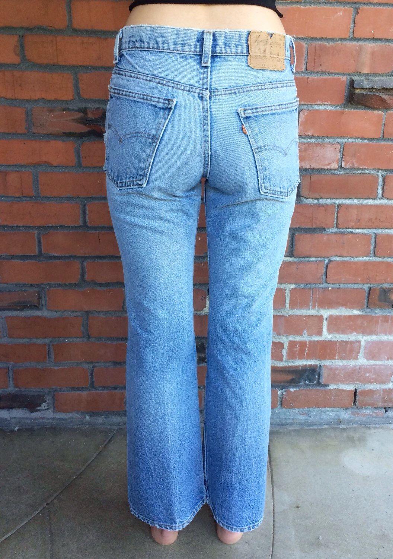 Vintage 80's Levi's 517 Orange Tab Jeans pLFH2ntkIm