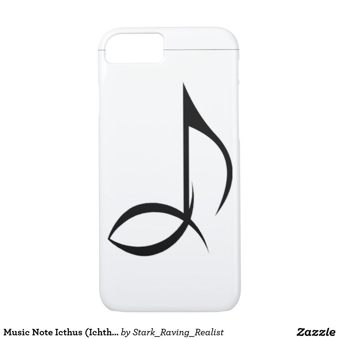 Music note icthus ichthus christian symbol iphone 7 case music music note icthus ichthus christian symbol biocorpaavc Image collections