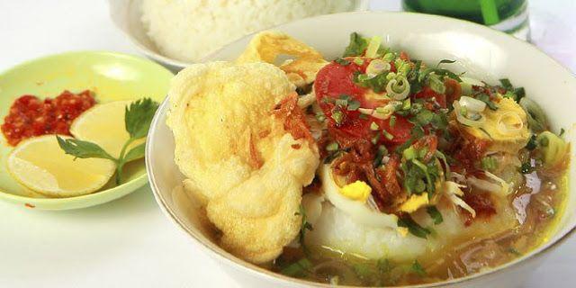Resep Soto Ayam Kampung Makanan Resep Ayam