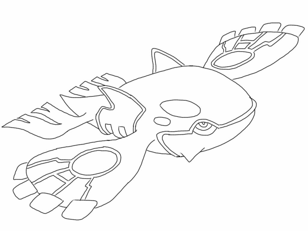 Free Kyogre Pokemon Coloring Page Full Page Pdf Download On