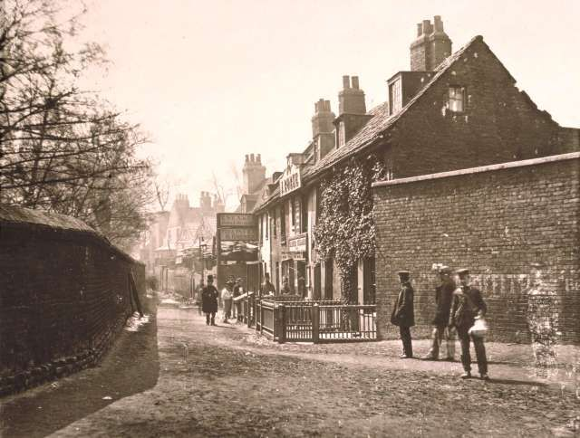 Bishops Walk, Lambeth North 1860