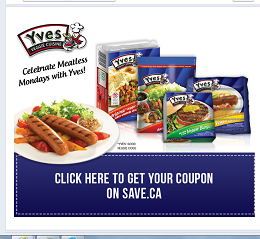 Yves Veggie Cuisine Canada Print Coupon For 1 Off Print Coupons