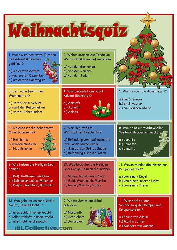 Weihnachten Seit Wann.German Deutsch Christmas Worksheets German Christmas Und Christmas