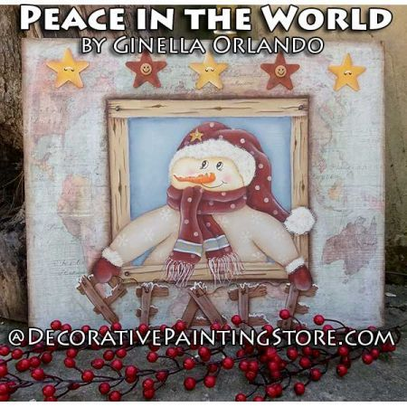 Peace in the World ePattern - Ginella Orlando - PDF DOWNLOAD