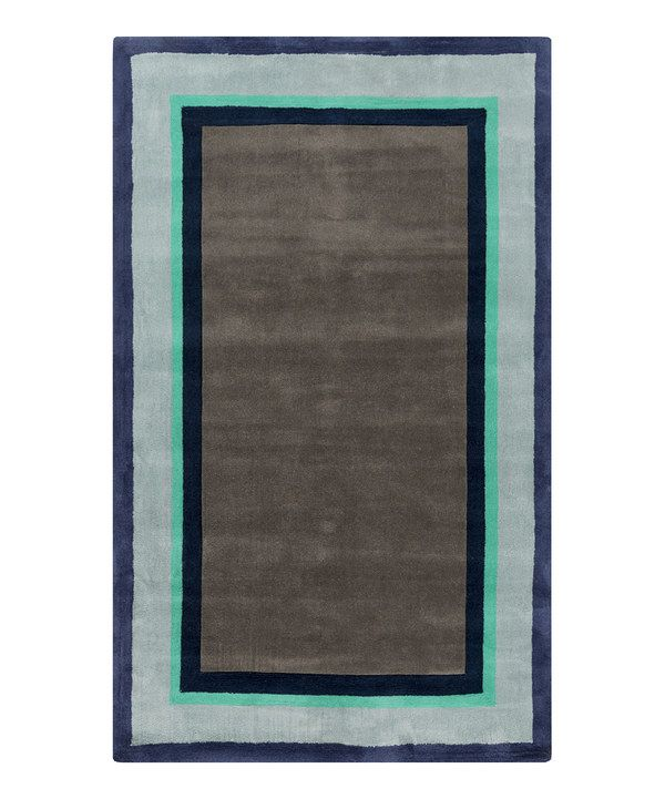 Teal Young Life Rug by Surya #zulily #zulilyfinds
