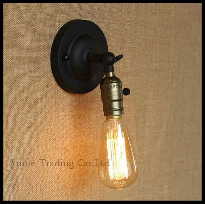 Ac100 240 Rh Loft Switch Wall Sconces Lamp Minimalist Aisle Bed Balcony Cafe Home Mini Decorative Light Sconce Fixture In Lamps From Lights