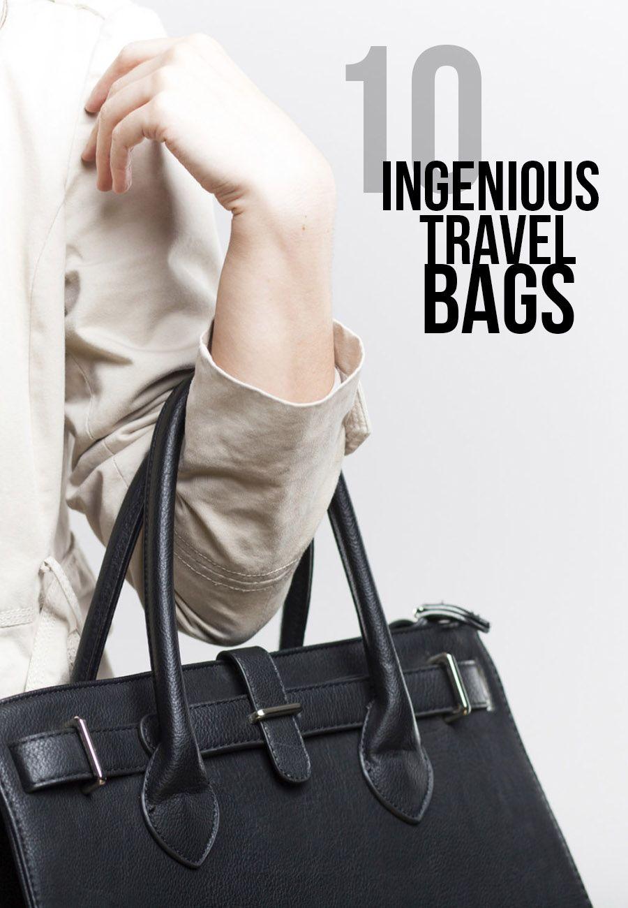 9 Ingenious Travel Handbags to Improve Your