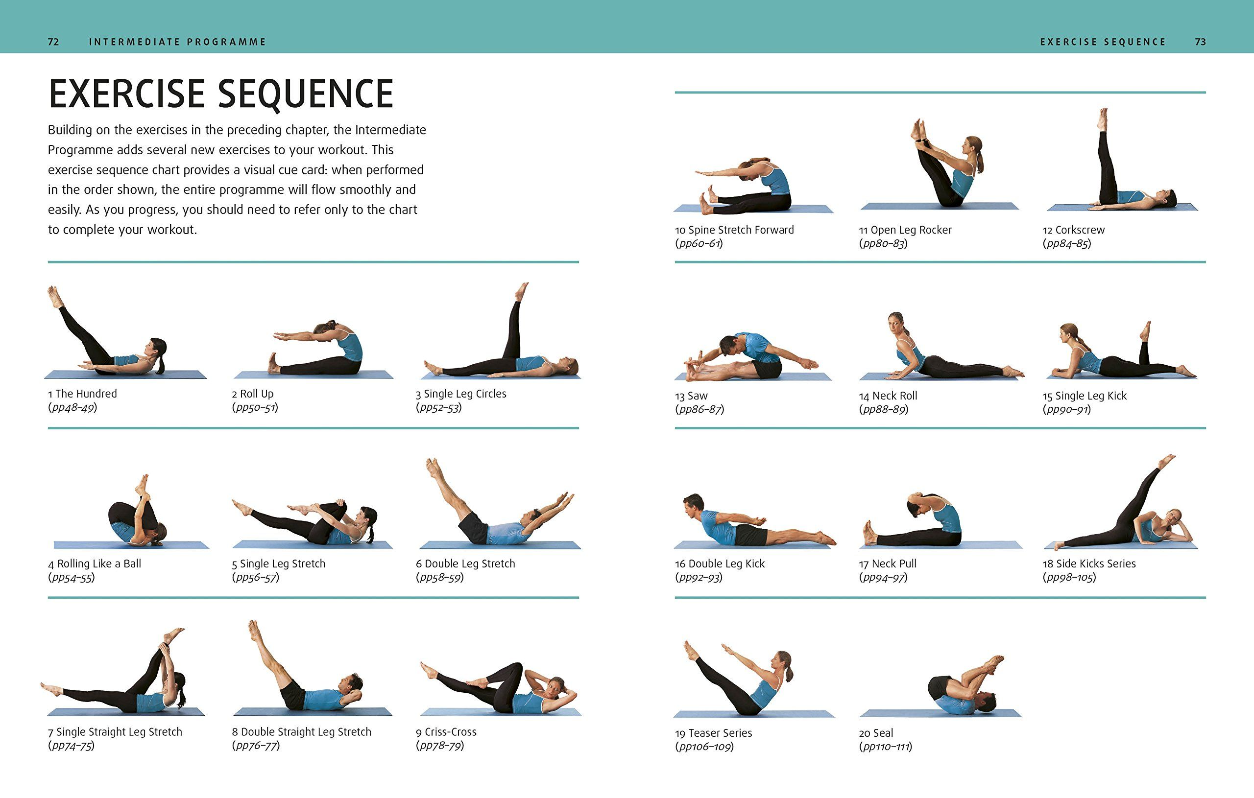 Pilates Mat Exercises Pixshark