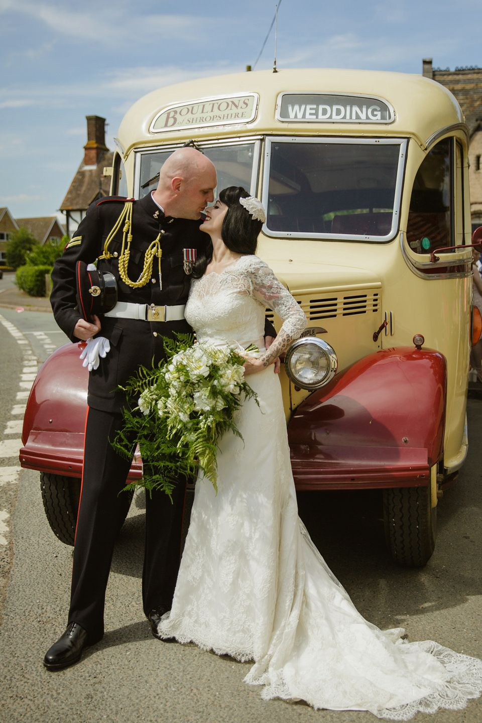 More Forties Inspired Flair: A 1940s Inspired And VE Day Celebration Wedding