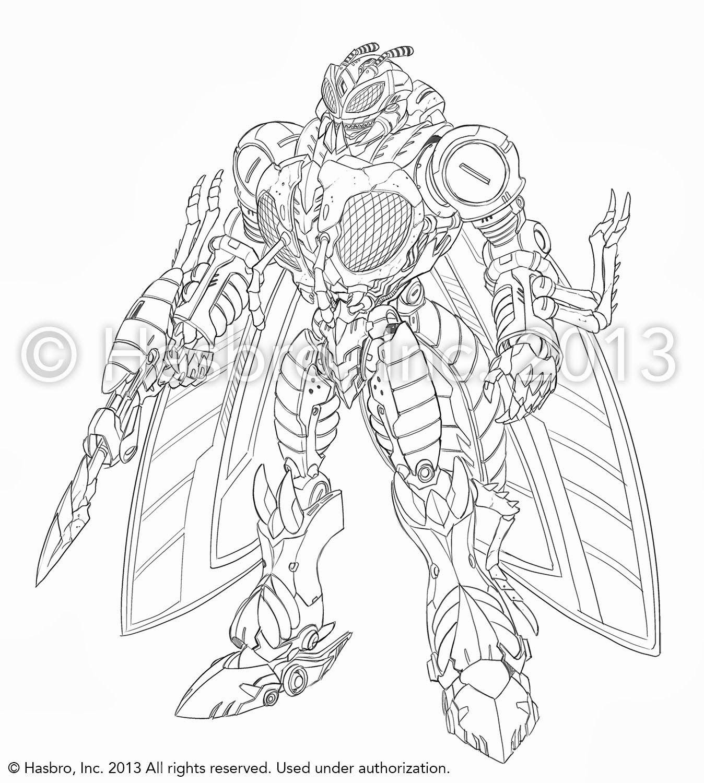 Http Www Tfw2005 Com Transformers News Attach 4 1 4 0 8 Waspinator Design Sketch 1 1381163365 Jpg Design Sketch Transformers Decepticons Transformers