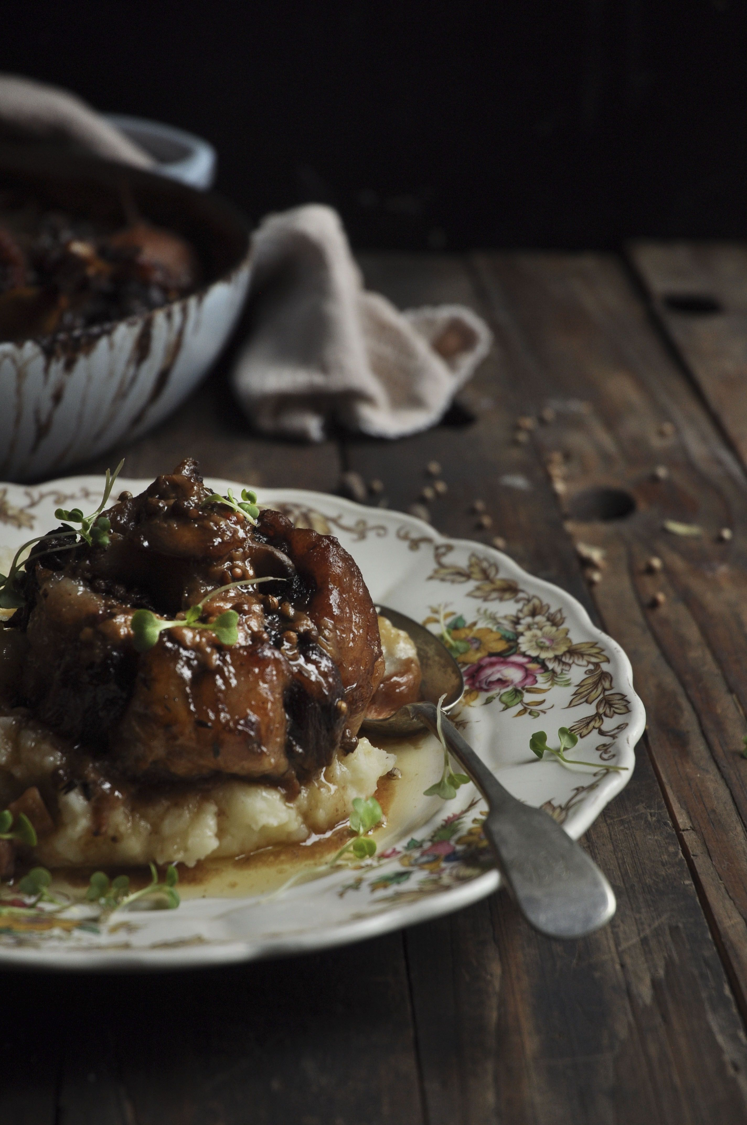 Easy Dinner Party Ideas For 4 Part - 20: Braised Oxtail With Pears, Garlic And A Whole Lot Of Love! - My Easy  Cooking. Find This Pin And More On Dinner Party Ideas ...