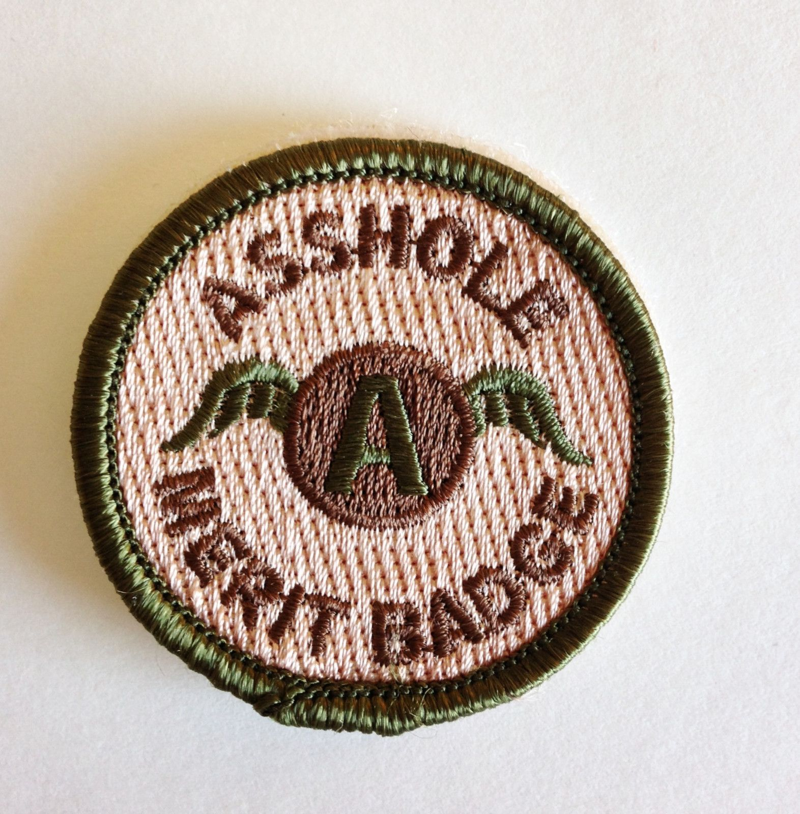 A**hole Merit Badge Police Military Tactical Morale Hook /& Loop Patch Multicolor