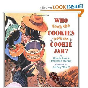 Who Took The Cookie From The Cookie Jar Book Who Took The Cookies From The Cookie Jar  Rhythmic Language In