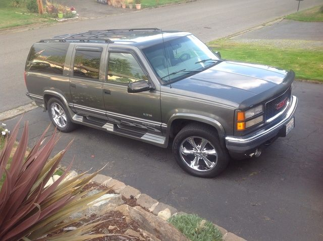 Picture Of 1999 Gmc Suburban K1500 Slt 4wd Exterior Gallery Worthy Gmc Suburban New Cars
