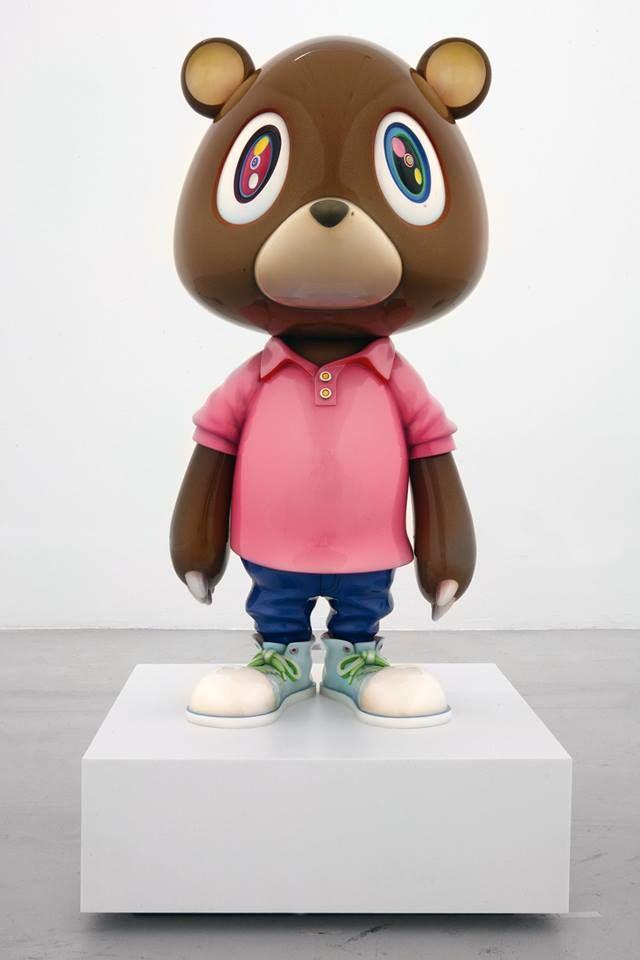 Kanye Bear By Takashi Murakami Takashi Murakami Art Takashi Murakami Sculpture Murakami