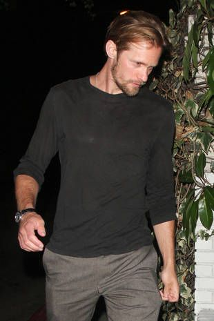 Alexander Skarsgard Family | Alexander Skarsgard Looking Gaunt in Los Angeles on Sept. 2, 2012