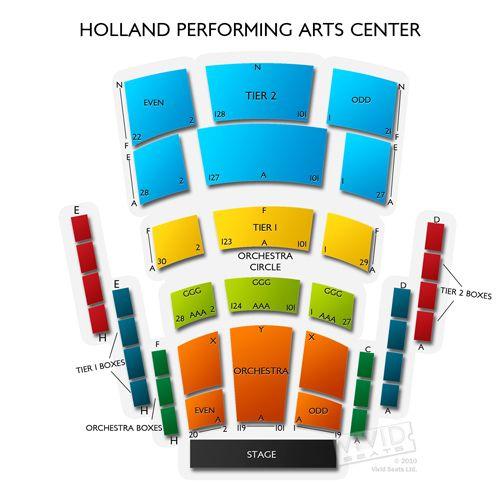 Holland Performing Arts Center Tickets Holland Performing Arts Center Information Holland Performing Arts Ce Performing Arts Center Performance Art Holland
