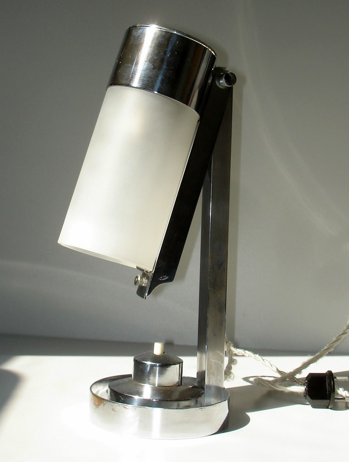 Bauhaus art deco modernist table lamp boris lacroix mitis tischlampe lampe 1930 ebay