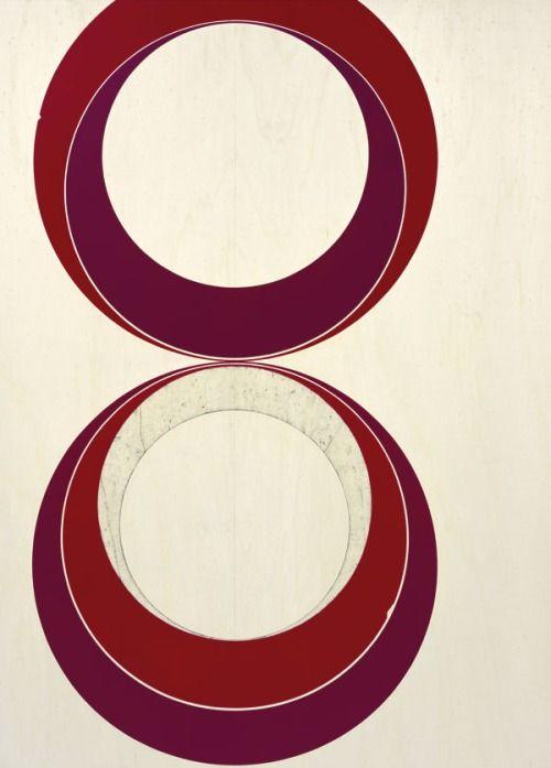 nearlya: Jens Wolf: Untitled (07.21), 2007, acrylique sur contreplaqué, 80 × 60 cm