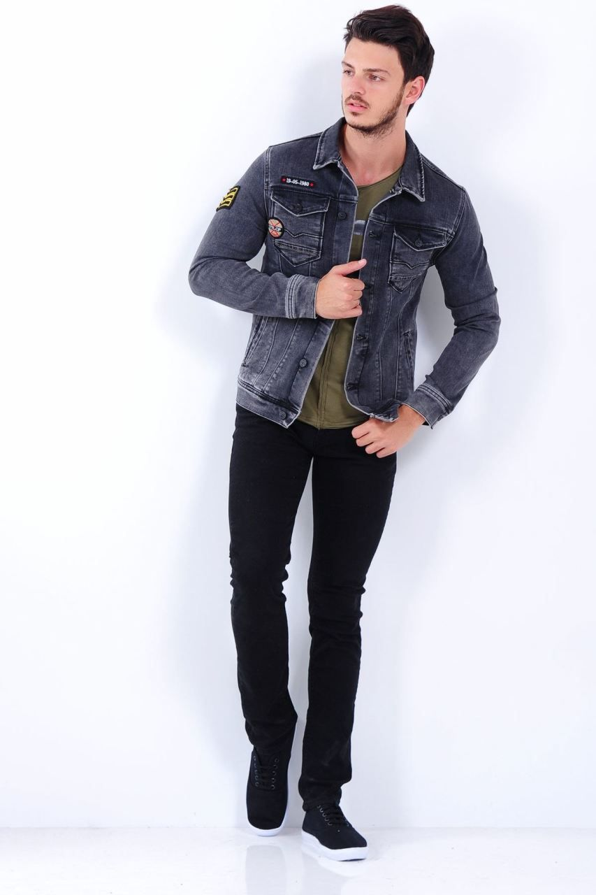 Apoletli Yikamali Siyah Kot Ceket Giyim Indirim Kampanya Bayan Erkek Bluz Gomlek Trenckot Hirka Etek Yelek Mont Kas Fashion Bomber Jacket Jackets