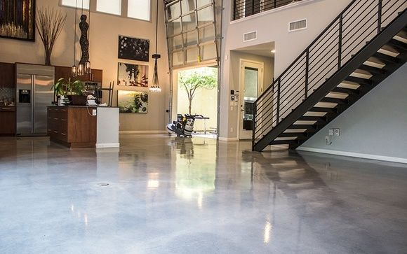 Polished Concrete Floors For Homes