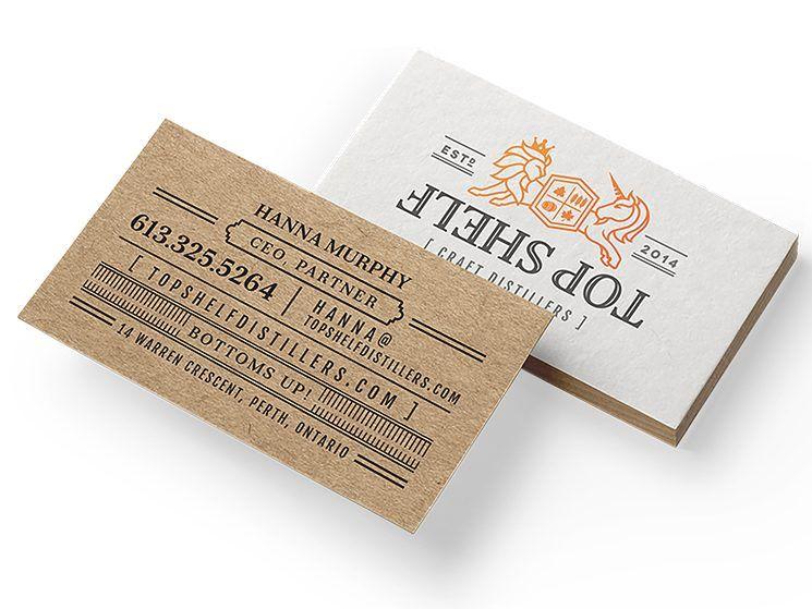 Topshelf Distillers Business Card Business Card Design Inspiration Business Card Design Inspiration Unique Business Cards Design Business Card Design Creative