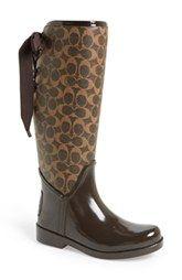 COACH 'Tristee' Rain Boot (Women)